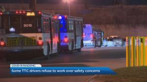 Some TTC drivers refused to work over safety concerns on Wednesday
