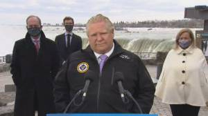 Ford says he stands by federal assessment that AstraZeneca vaccine safe for people 55+ (04:41)