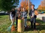 St. Peter Catholic Secondary students lend a helping hand to Peterborough seniors