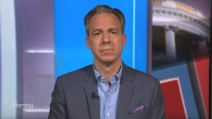 Checking in with CNN's Jake Tapper