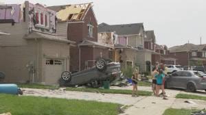 Premier Doug Ford tours Barrie neighbourhood hit by tornado (02:36)