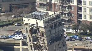 'Leaning Tower of Dallas' finally demolished after multiple attempts