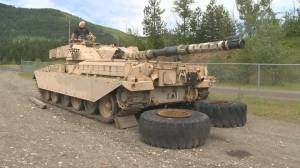 North Okanagan resident adds British tank to military vehicle collection