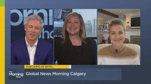 Checking in with Global Calgary's Leslie Horton
