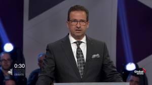 Leaders' Debate: Blanchet, Bernier clash over climate change, immigration