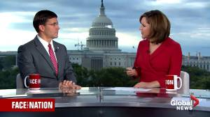 Esper says videos of Kurds being executed would be considered 'war crimes' if true