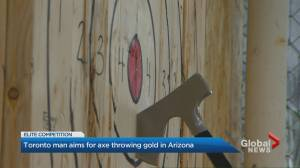Toronto axe thrower goes for top prize in Arizona