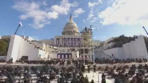 Biden inauguration marks multiple firsts for ceremonies (02:31)