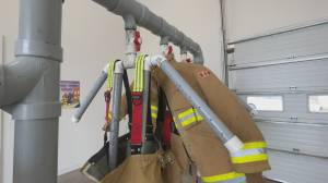 Elgin fire department gets support from Riverview High School graduate to build a fire gear dryer (01:32)