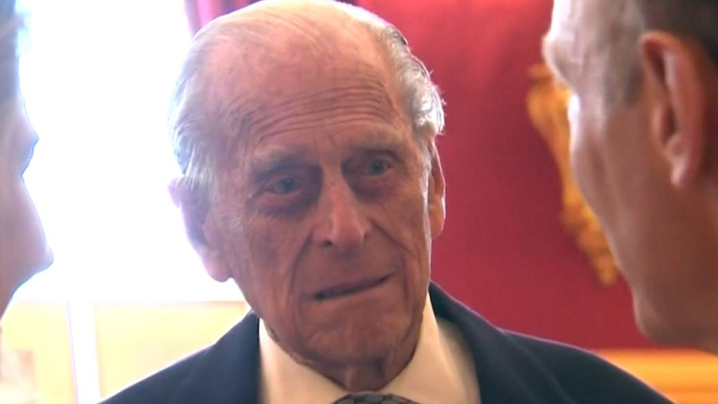 Click to play video 'Prince Philip, 99, admitted to hospital 'after feeling unwell''