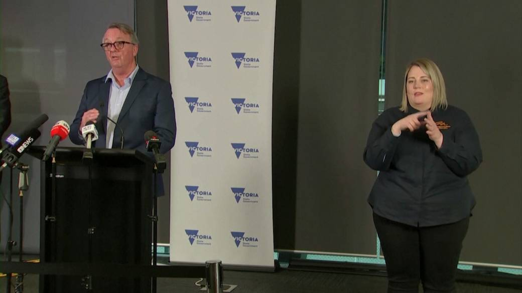 'Australia's Victoria authorities   officials inactive  unclear connected  COVID-19 lockdown extremity  date'