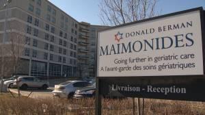 Maimonides Geriatric Centre in Côte Saint-Luc handling COVID-19 crisis (02:02)