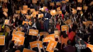 Federal Election 2019: Singh dances at Montreal rally