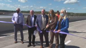 Bridge between Moncton and Riverview reopens (02:05)