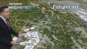 Play video: Kelowna Weather Forecast: October 23