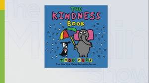 Bestselling author Todd Parr's new children's book 'The Kindness Book'
