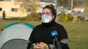 Regina community groups preparing tent city amid predicted increase in homelessness (01:45)