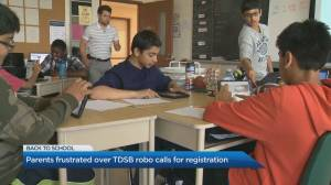 Parents frustrated over TDSB robo calls for back-to-school registration