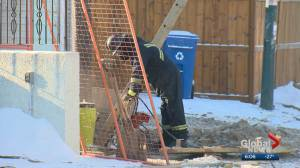 Cold snap causes water main breaks around Calgary