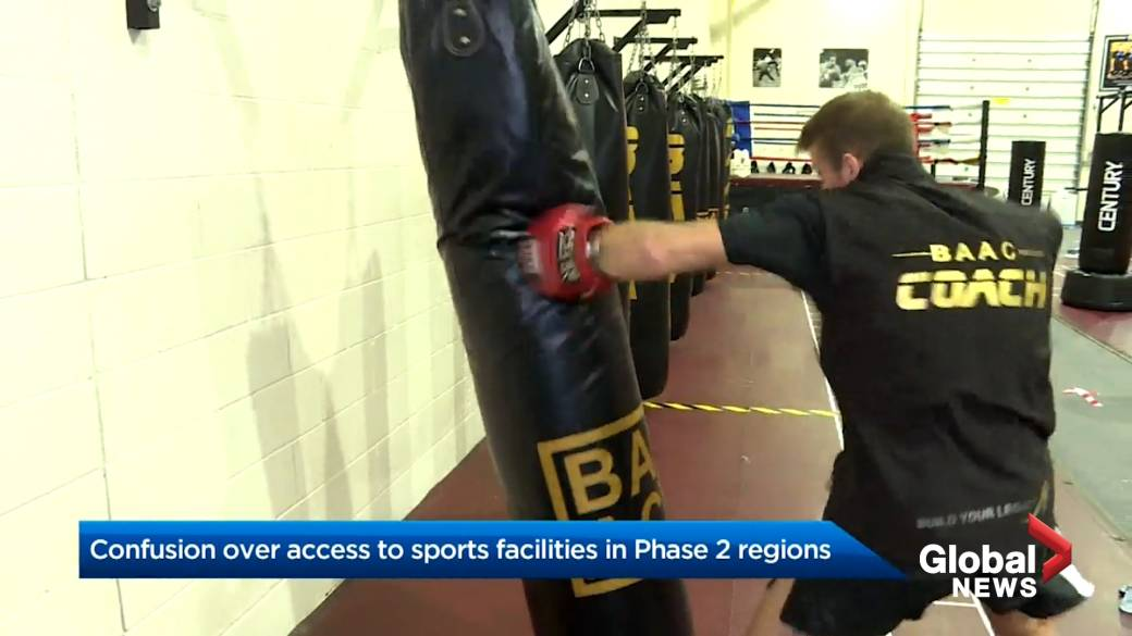 Click to play video 'Coronavirus: Confusion grows over gym closures, Ontario's sports organizations'