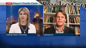 Mayor Charlie Clark on return to council chambers, power bill changes (04:39)
