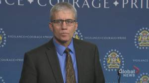 Calgary police update media after 2nd-degree murder charges laid in case of woman found in Bowness street