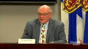 Coronavirus: N.S. top doctor calls blanket restrictions 'unfair' but necessary (00:56)