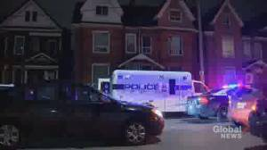 Two people charged after newborn found buried in basement: Hamilton police (01:50)