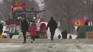Trudeau cancels Barbados trip amid rail blockades