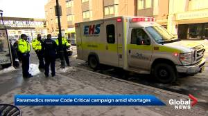 N.S. paramedics call for help after reporting over 40 'Code Critical' cases in 5 days (02:21)