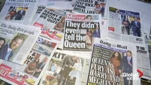 'Megxit': Harry, Meghan headline British papers, prompt mixed public reactions
