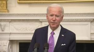 Biden aims to beef up COVID-19 vaccine distribution, testing (02:22)