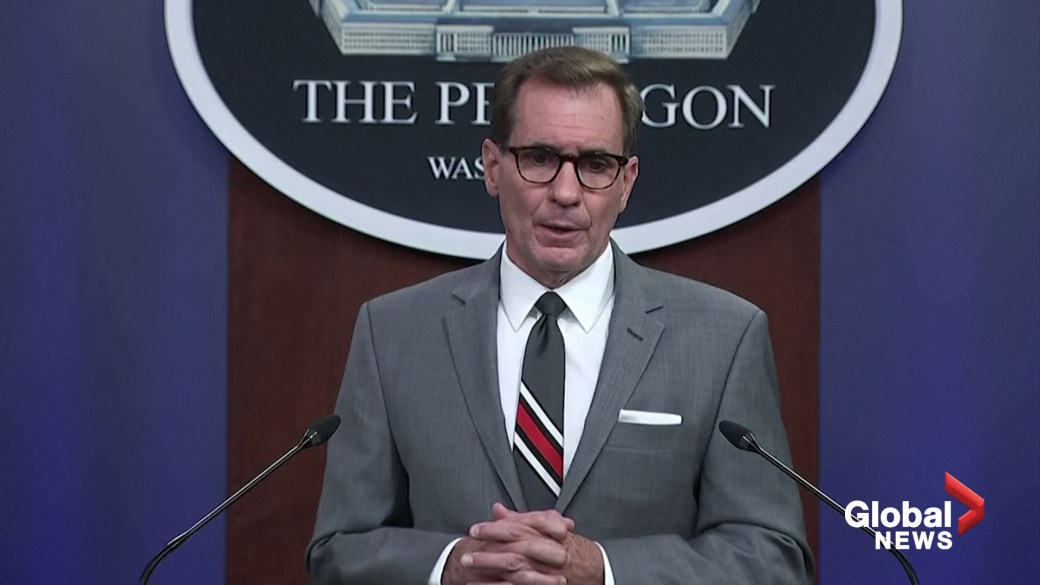 Click to play video: 'Security in Afghanistan 'not going in the right direction,' Pentagon says'