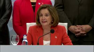 Nancy Pelosi at U.N. climate summit: 'We are still in'