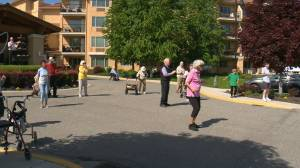 Kelowna retirement home hosting dance parties for seniors – pandemic style