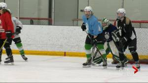 Sophie Lalor making comeback with Saskatchewan Huskies women's hockey team