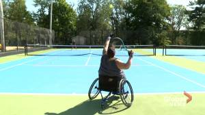 N.S. wheelchair-bound tennis player hopes to see others take up the sport (01:45)
