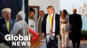 Trump tours Taj Mahal, visits Gandhi's former home on first India state trip