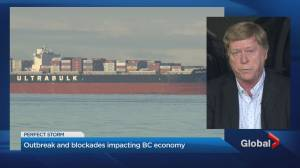 COVID-19 outbreak and blockades impacting B.C. economy