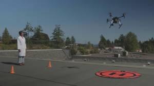 Prescription drugs delivered by drone