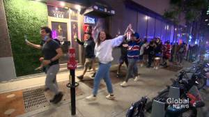 Montreal Canadiens' Game 7 victory celebrations spark public health warning (02:09)