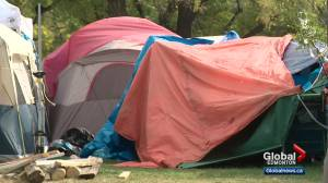 No end date for Rossdale homeless encampment as Edmonton moves forward with housing plans