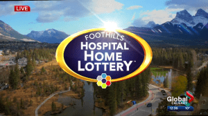 Foothills Hospital Home Lottery early bird winner announced