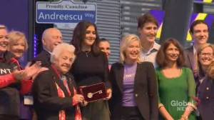Bianca Andreescu presented with key to city, street named after her in Mississauga