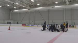 Southern Express fully committed to preparing for Alberta Female Hockey League Bantam Elite season (01:57)