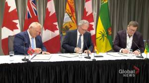 Premier Higgs joins inter-provincial nuclear reactor collaboration (01:51)