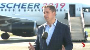 2019 Federal Election: Andrew Scheer speaks to media as campaign begins