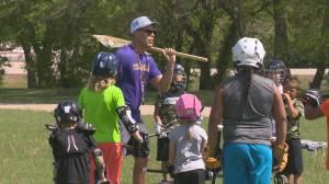 Shattler using lacrosse to heal Standing Buffalo (01:50)