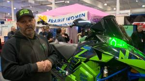 Sask. snowmobile enthusiast using the platform to help others and himself