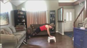 Get Fit: Working out at home (05:24)